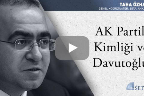 AK Partili Kimliği ve Davutoğlu