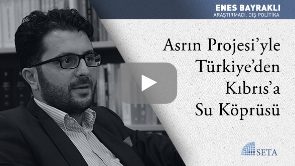 Asrın Projesi'yle Türkiye'den Kıbrıs'a Su Köprüsü