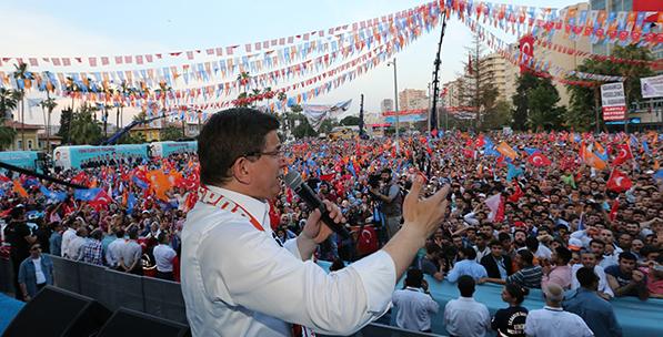 Davutoğlu Seçim Sürecinden Emin