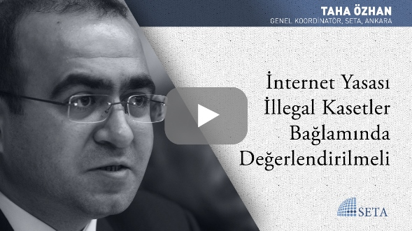 İnternet Yasası İllegal Kasetler Bağlamında Değerlendirilmeli