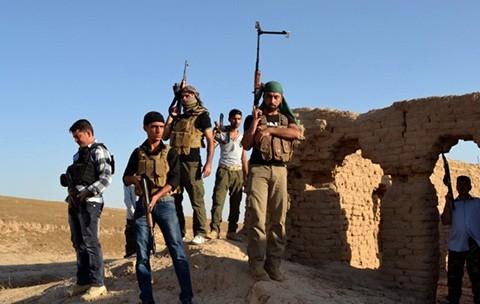 Irak'ta İsyanın Haritası: Silahlı Gruplar