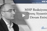MHP Reaksiyoner Direnç Siyasetini Devam Ettirdi