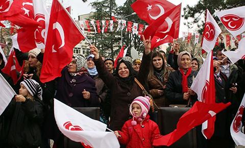 Müesses Nizam'ın Ritüeli Olarak Cumhuriyet (Bayrak) Mitingleri ve MHP