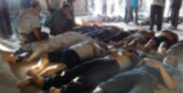 Suriye'de Kimyasal Silah Sicili