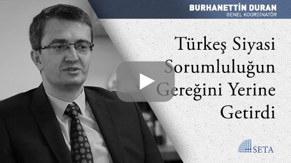 Türkeş Siyasi Sorumluluğun Gereğini Yerine Getirdi