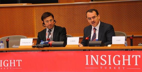 Türkiye-AB ilişkileri Brüksel'de Tartışıldı