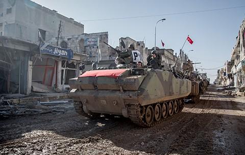 Türkiye'nin Suriye Politikası ve Şah Fırat Operasyonu