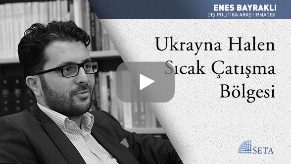 Ukrayna Halen Sıcak Çatışma Bölgesi