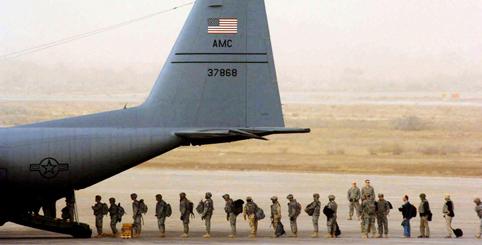 ABD, Irak'a çekilerek yerleşiyor