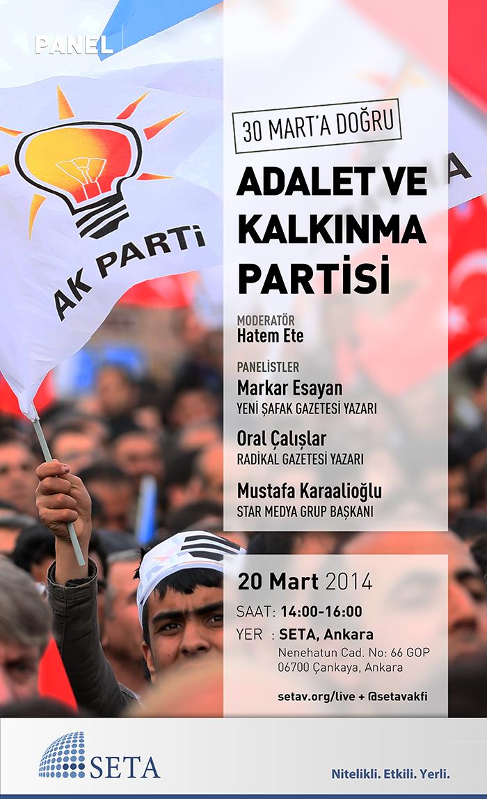 30 Mart'a Doğru Adalet ve Kalkınma Partisi