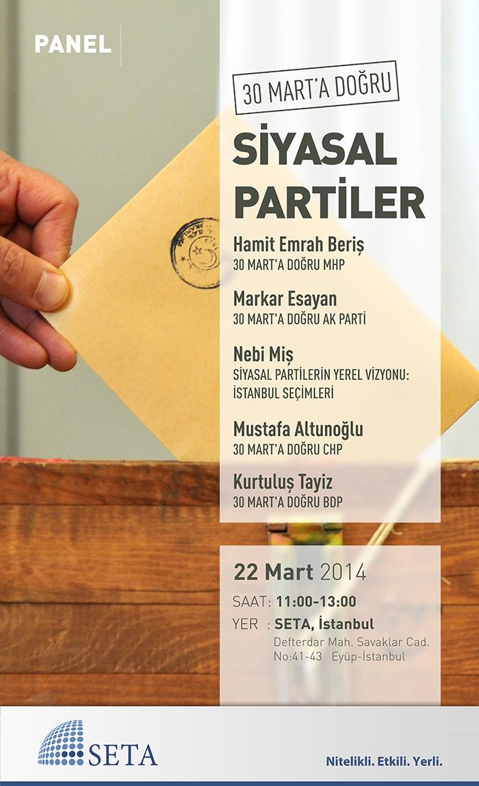 30 Mart'a Doğru Siyasal Partiler