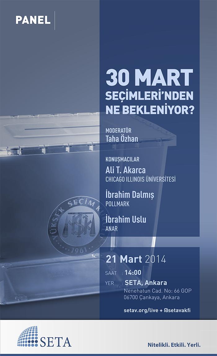 30 Mart Seçimleri'nden Ne Bekleniyor?