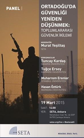 Ortadoğu'da Güvenliği Yeniden Düşünmek: Toplumlararası Güvenlik İkilemi