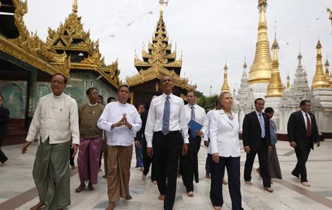 Obama'nın Burma Ziyareti: Tam Gaz Asya