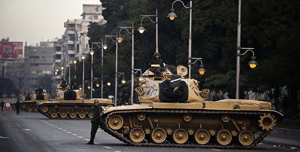 Mısır'da Geleceğini Arayan Karşı-Devrim