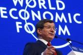 İsviçre'nin Davos kasabasında Dünya Ekonomik Forumu'na katılan Başbakan Ahmet Davutoğlu bir konuşma yaptı. ( Hakan Göktepe - AA )