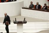 TBMM Genel Kurulu açılışının 96'ıncı yılı nedeniyle özel gündemle toplandı. MHP Genel Başkanı Devlet Bahçeli Genel Kurul'da bir konuşma yaptı. ( Murat Kula - Anadolu Ajansı )