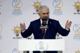 AK Parti 2. Olağanüstü Kongresi'nde Genel Başkanlığa seçilen Binali Yıldırım, teşekkür konuşması yaptı. ( Aykut Ünlüpınar - Anadolu Ajansı )