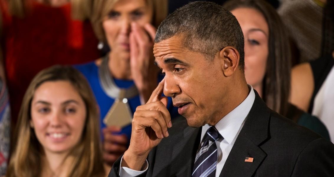 ABD Başkanı Barack Obama Beyaz Saray'da 2016 NCAA Kadınlar Basketbol Ligi (NCAA Women's Basketball Championship) şampiyonlarını ağırladı. ( Samuel Corum - Anadolu Ajansı )