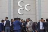 Olağanüstü kurultay tartışmalarının yaşandığı MHP'de bir grup partili, Genel Merkez önünde bekleyişini sürdürürken, MHP Genel Başkanı Devlet Bahçeli sabah saatlerinde geldiği parti genel merkezindeki çalışmalarına devam ediyor. Bahçeli'ye destek vermek üzere genel merkez önüne gelen bir grup partili Bahçeli lehine sloganlar attı.  ( Murat Kaynak - Anadolu Ajansı )