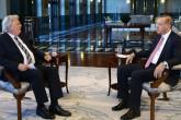 Cumhurbaşkanı Recep Tayyip Erdoğan, Alman ARD Televizyonu'na mülakat verdi. ( Kayhan Özer - Anadolu Ajansı )