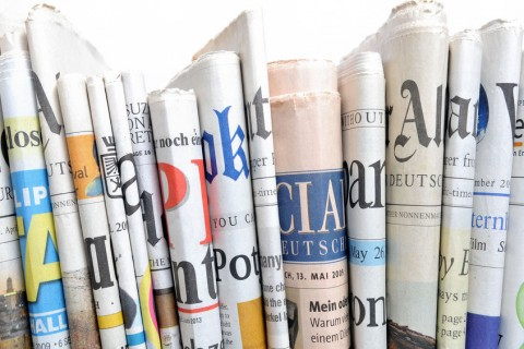 27588734 - row of newspapers
