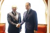 Dışişleri Bakanı Mevlüt Çavuşoğlu ve Rusya Dışişleri Bakanı Sergey Lavrov, Rusya'nın Soçi şehrinde görüştü.  ( Sefa Karacan - Anadolu Ajansı )