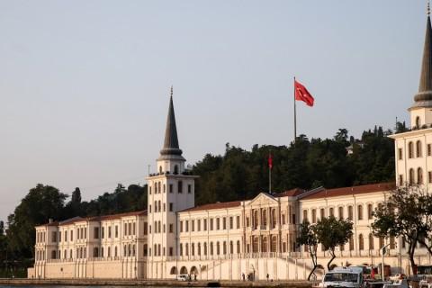 Fetullahçı Terör Örgütü'nün (FETÖ) 15 Temmuz'daki darbe girişimi sırasında, adı kalkışma ihanetine karışan 171 yıllık Kuleli Askeri Lisesi, yeniden yapılanma çalışmaları kapsamında kapatıldı. ( Elif Öztürk - Anadolu Ajansı )