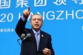 Cumhurbaşkanı Recep Tayyip Erdoğan, G20 Liderler Zirvesi için bulunduğu Çin'in Hangcou kentinde basın toplantısı düzenledi. ( Kayhan Özer - Anadolu Ajansı )