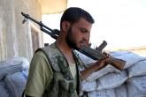 Türk Silahlı Kuvvetleri (TSK) Müşterek Özel Görev Kuvveti ve koalisyon hava kuvvetlerince, Suriye'nin Türkiye sınırındaki Cerablus bölgesinde terör tehditlerine karşı yürütülen Fırat Kalkanı Harekatı devam ediyor. Bir taraftan yeni saldırılar için hazırlanan ÖSO, diğer taraftan da DAEŞ'ten kurtarılan köylerde güvenliği sağlamak için birçok noktada nöbet tutuyor. Terör örgütü DAEŞ'e sınır, Çobanbey'e bağlı bir köyde birlikleri hazır bekleten ÖSO'ya bağlı Sultan Murad Tugayı'nın saha komutanlarından Mecit Abdulmecit, AA muhabirine açıklamalarda bulundu. ( Ensar Özdemir - Anadolu Ajansı )