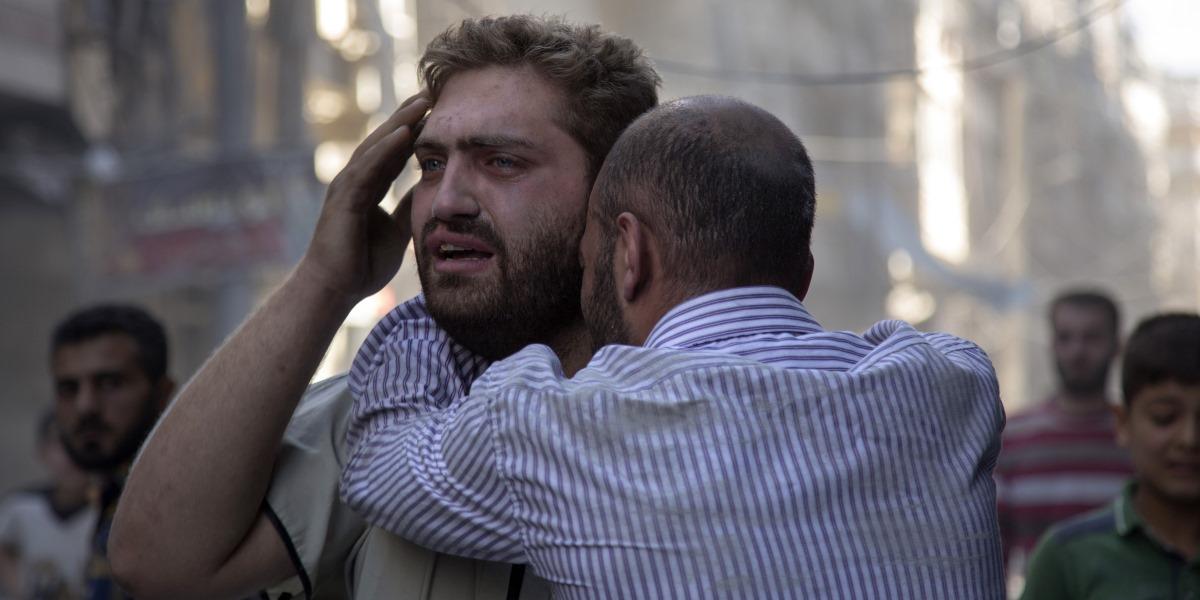 AFP PHOTO / KARAM AL-MASRI