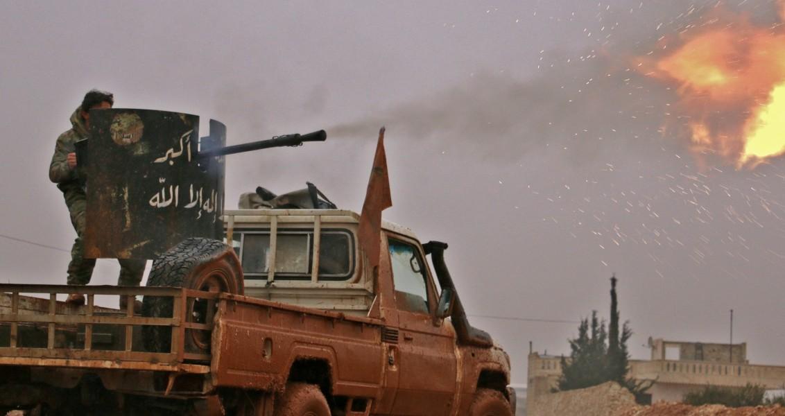 AFP PHOTO / Saleh ABO GHALOUN