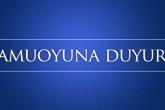 Kamuoyuna-Duyuru