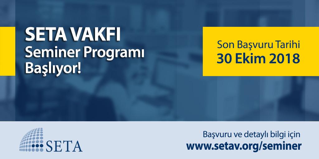 SETA 2018 Güz Dönemi Kurs/Staj Programı Başlıyor