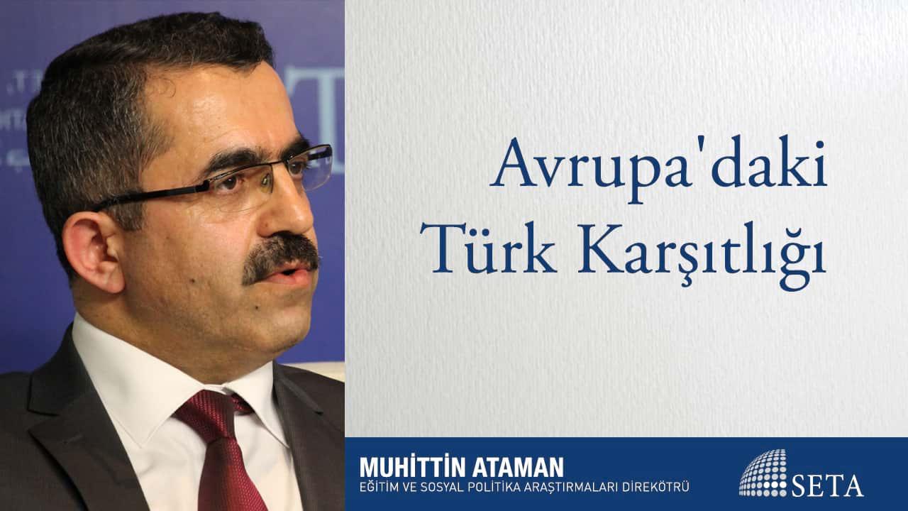 Avrupa'daki Türk Karşıtlığı