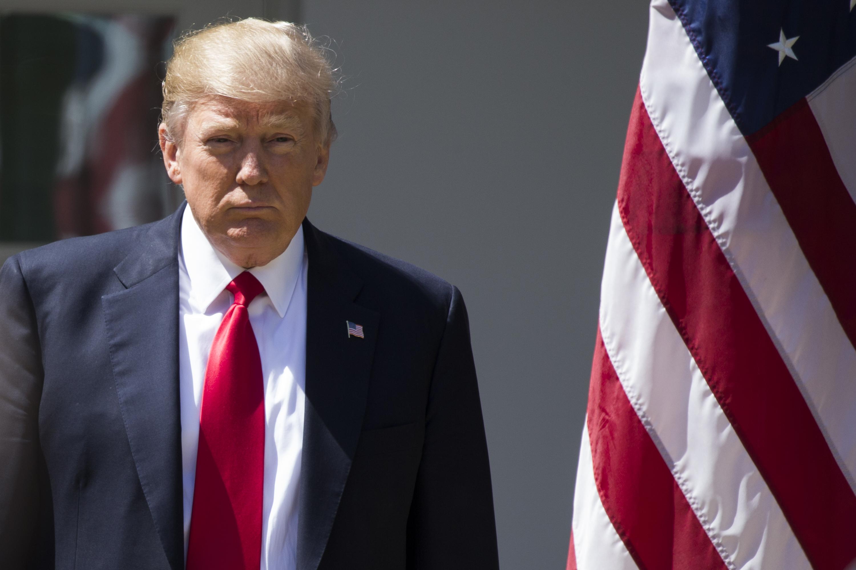 ABD Başkanı Donald Trump (fotoğrafta), Ürdün Kralı 2. Abdullah ile Washington'da bir araya geldi. İki lider görüşme sonrası Beyaz Saray'da ortak basın toplantısı düzenledi.  ( Samuel Corum - Anadolu Ajansı )