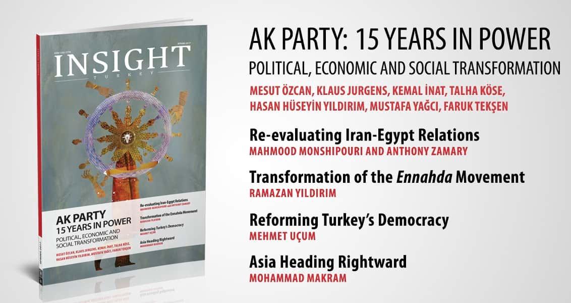 AK Parti İktidarının 15. Yılı Özel Sayısıyla Yayımlanan Insight Turkey Çıktı