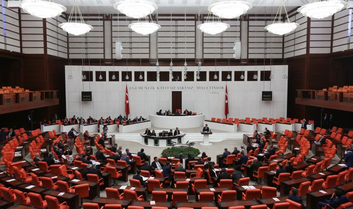 TBMM Genel Kurulu'nda 2017 yılı bütçesinin görüşmelerine başlandı. Oturuma TBMM Başkanvekili Ayşe Nur Bahçekapılı başkanlık etti. ( Cem Özdel - Anadolu Ajansı )