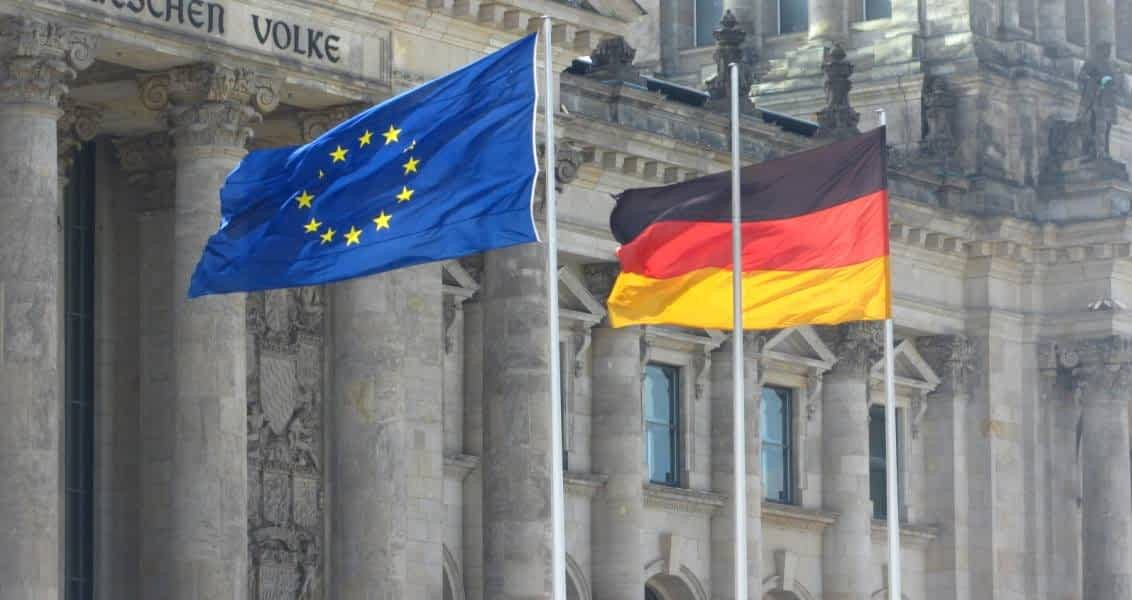Almanya AB Bayrakları