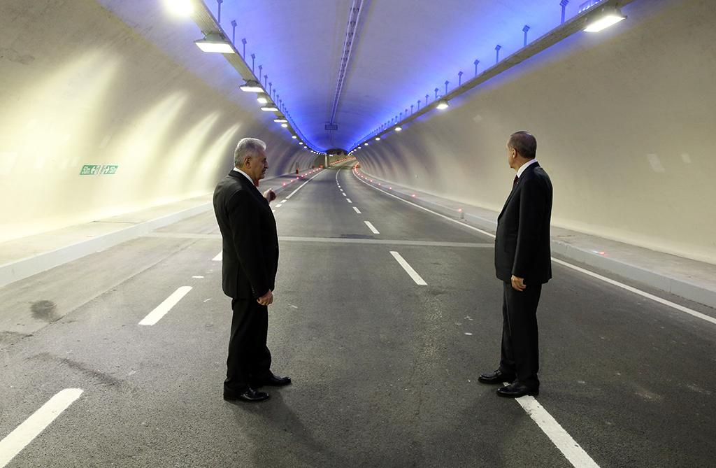 Başbakan Binali Yıldırım ve Cumhurbaşkanı Recep Tayyip Erdoğan