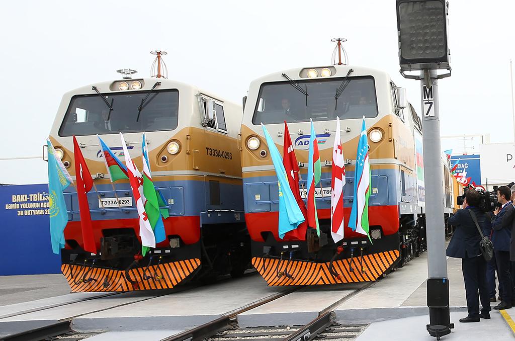 Bakü tiflis Kars Demiryolu Hattı