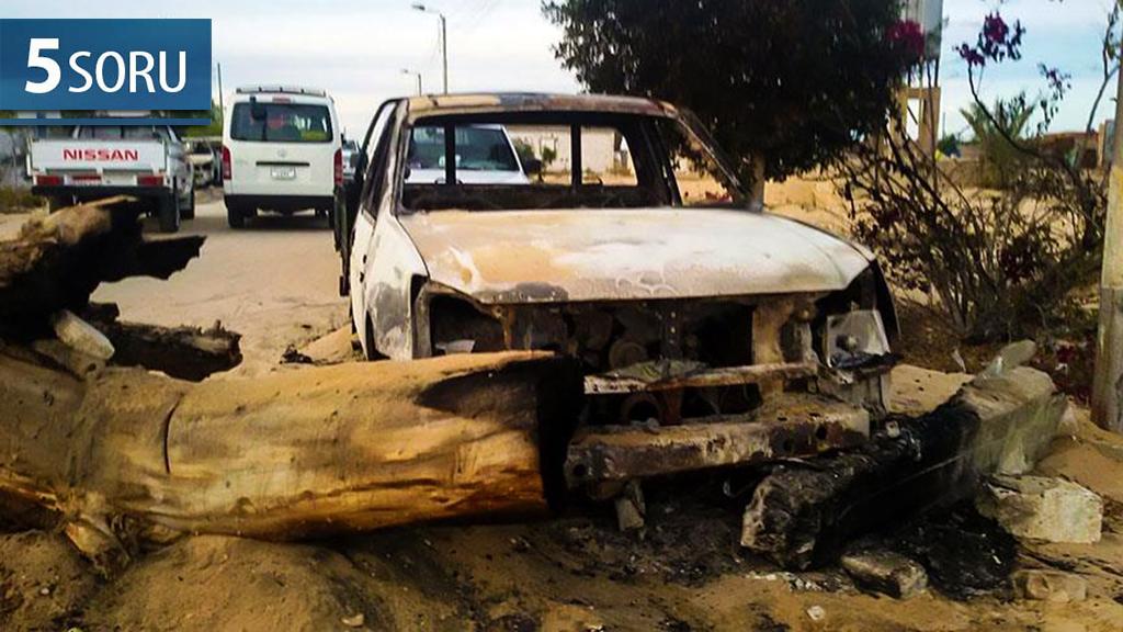 Mısır - Kuzey Sina Terör Saldırısı
