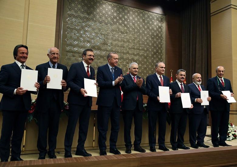 Recep Tayyip Erdoğan Yerli Otomobil Firmaları