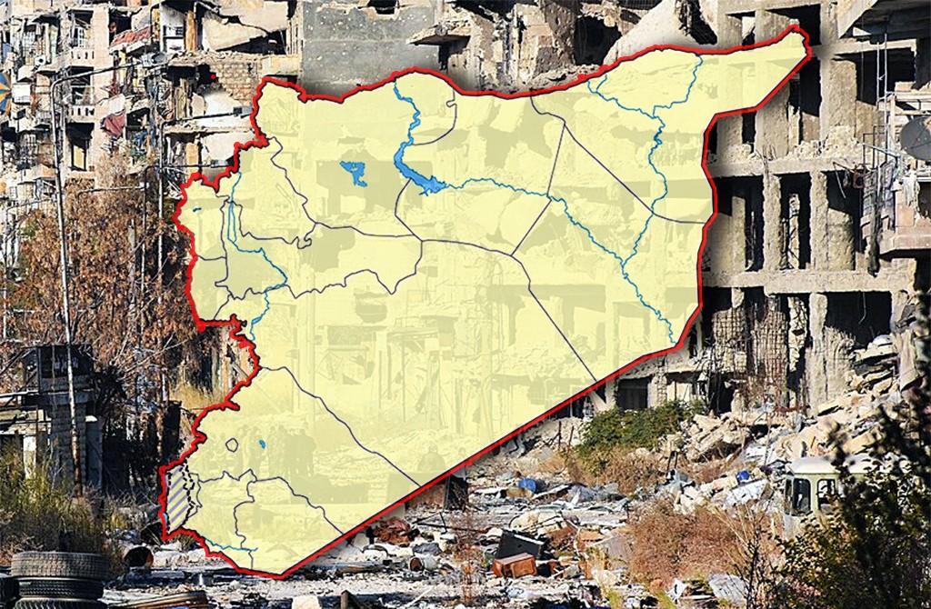 Suriye Haritası Halep