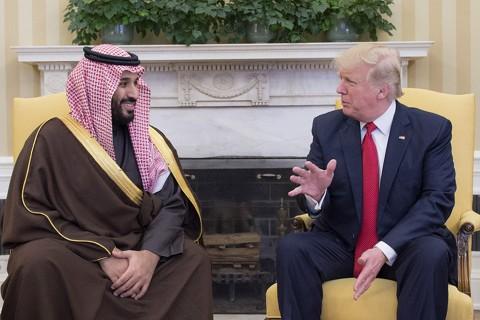 Suudi-Arabistan-Veliaht-Prensi-Muhammed-bin-Selman-ve-Kral-Selman-ve-abd-başkanı-donald-trump-oval-ofiste