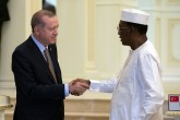 Recep Tayyip Erdoğan ve Idriss Déby