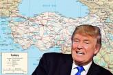 Donald Trump - Turkey Map - Türkiye Haritası