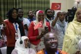 Cumhurbaşkanı Recep Tayyip Erdoğan'ın Çad ziyaretinden bir kare