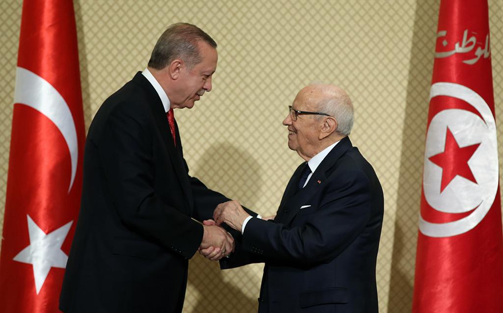 Recep Tayyip Erdoğan ve El-Beci Kaid es-Sibsi