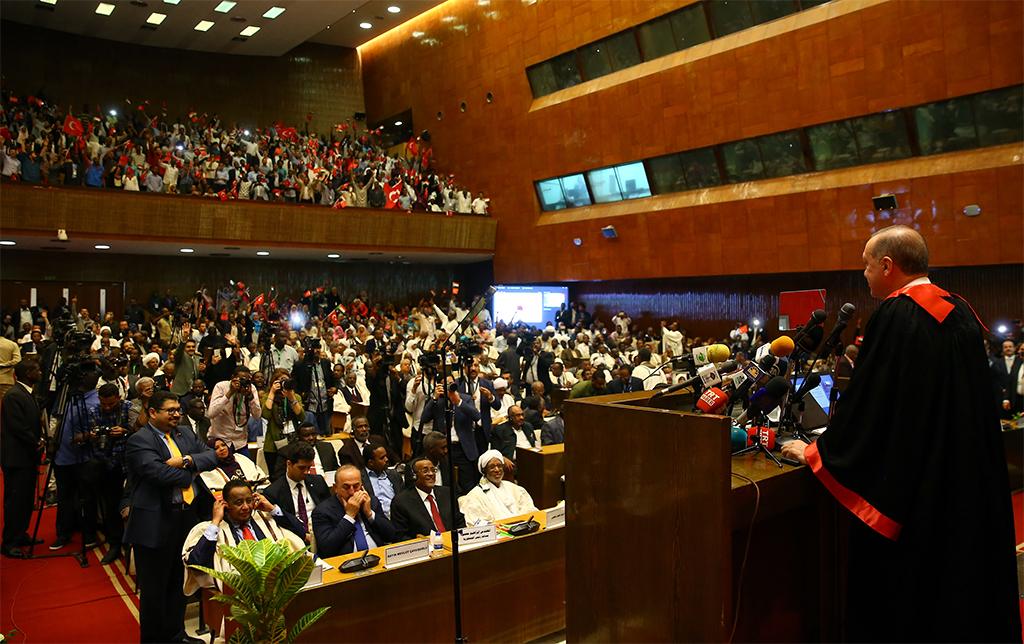 Cumhurbaşkanı Recep Tayyip Erdoğan'ın Sudan Hartum Üniversitesindeki Konuşması